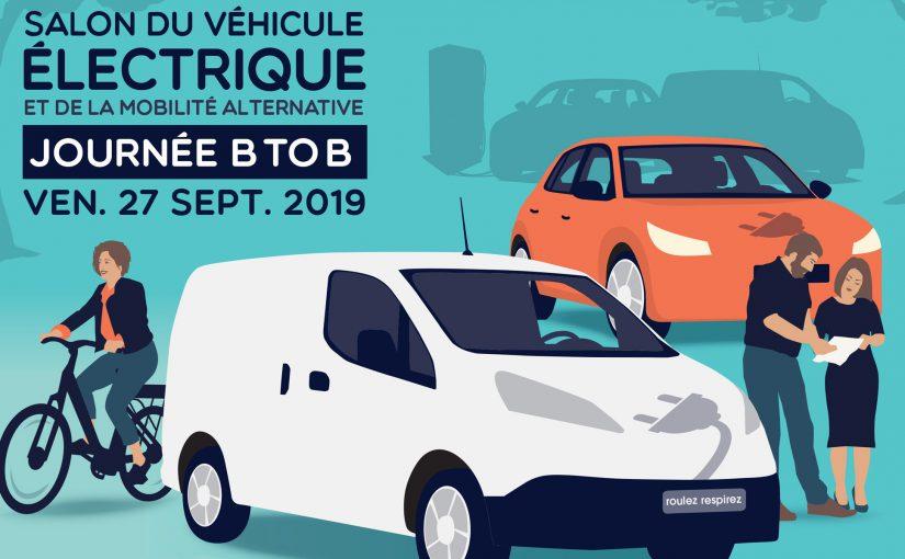 Salon du véhicule électrique - Journée pour les professionnels et collectivités